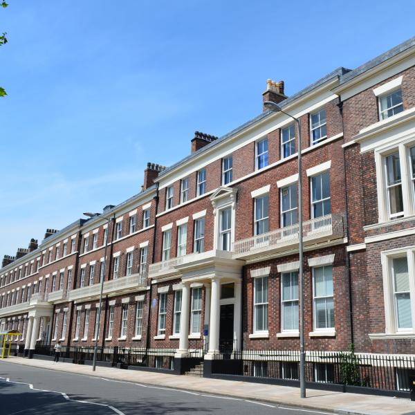 19 Abercromby Square – School of the Arts, University of Liverpool