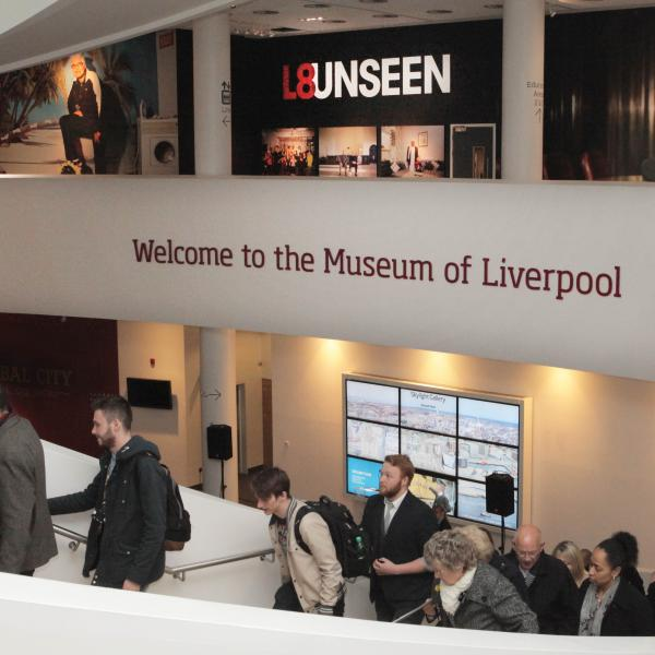 L8Unseen Launches at Museum of Liverpool